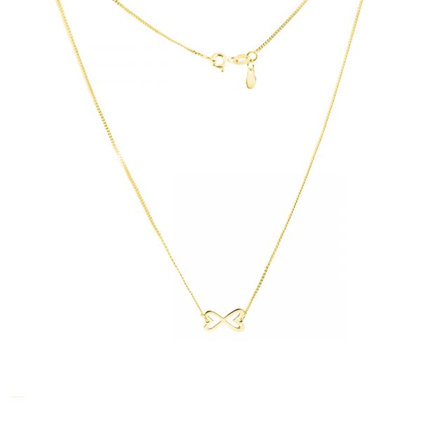 collar cadena oro dije mediano