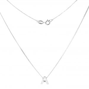Collares ABC LOVE en plata